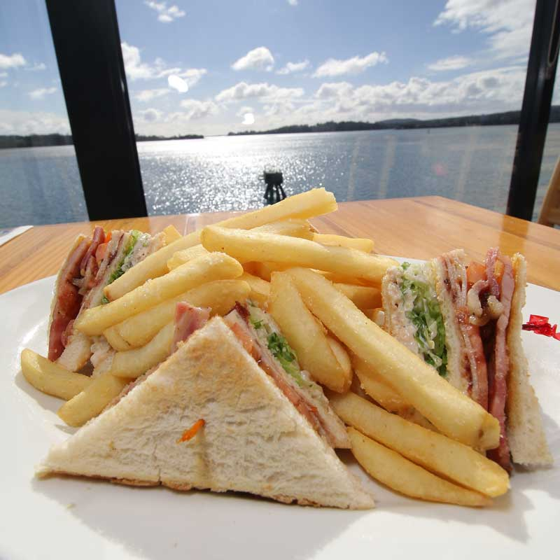 The Cormorant - Cafe on the Pier Seahorse World - Club Sandwich