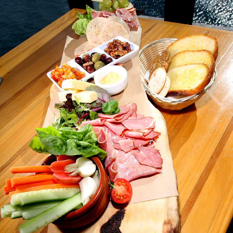 The Cormorant - Cafe on the Pier Seahorse World - Ploughmans Platter